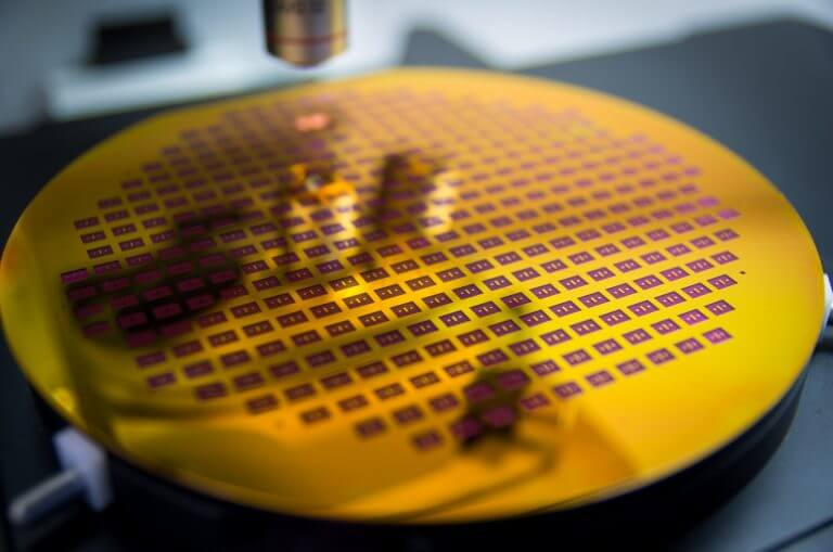 structured wafer